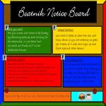 Beatnik Notice Board